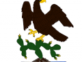 ¿Cuándo se usó por primera vez el Escudo Nacional Mexicano?