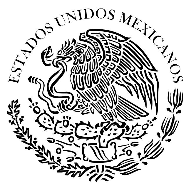 Escudo de México para colorear